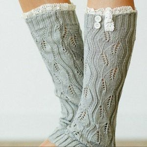 Accessories - New knit boot socks. Leg warmers.